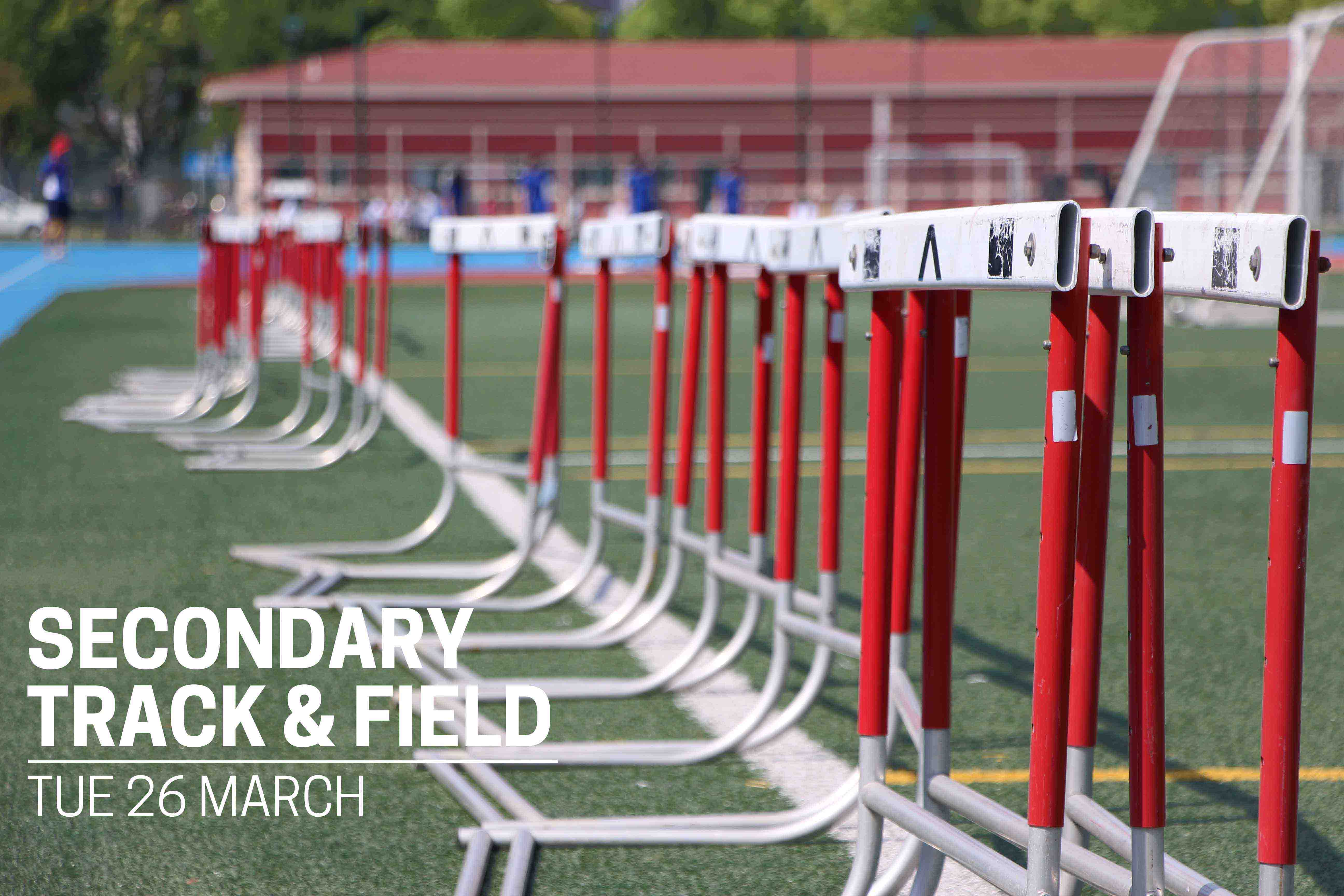 Secondary Track & Field Day