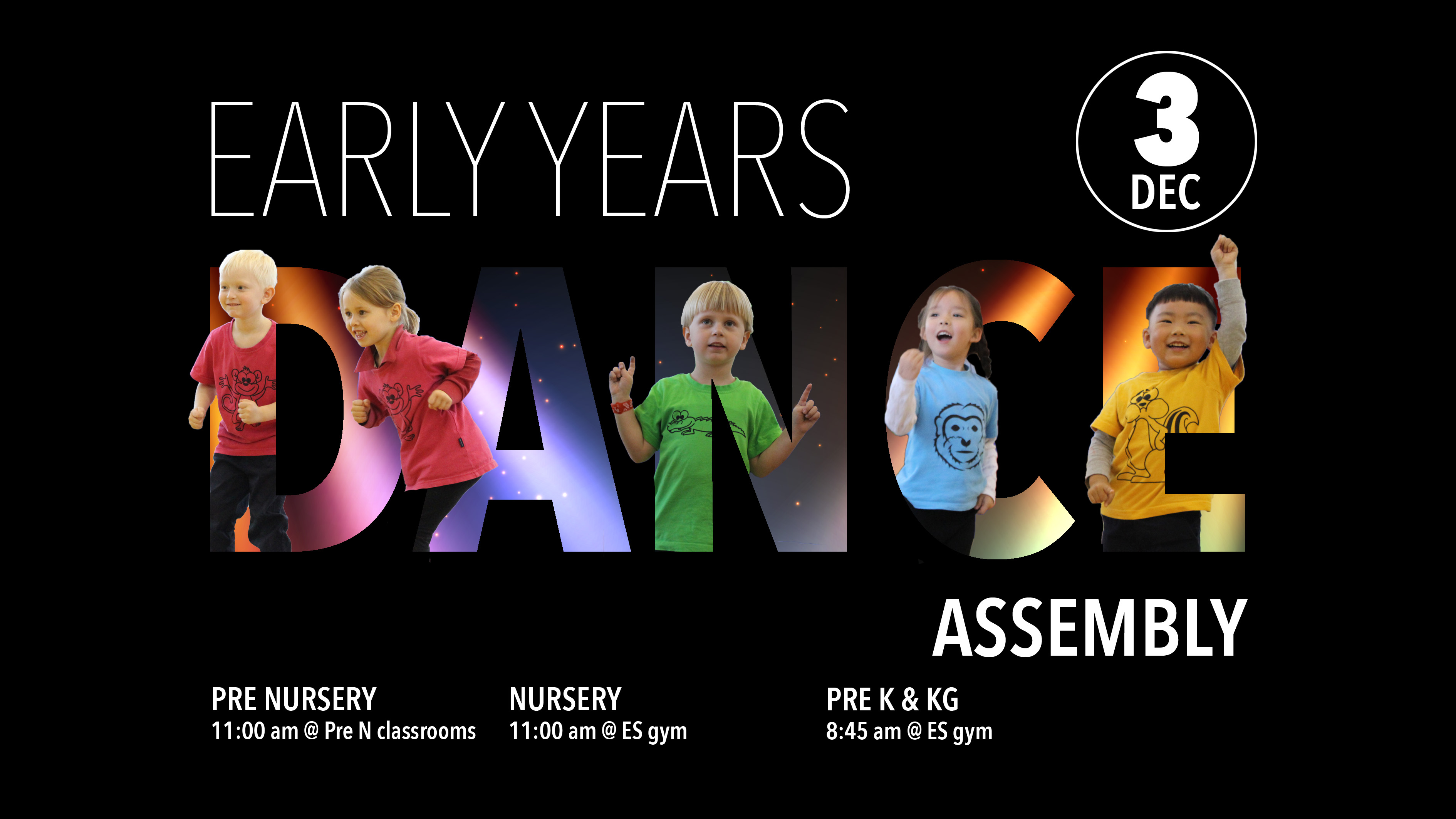 Early Years Dance Assembly